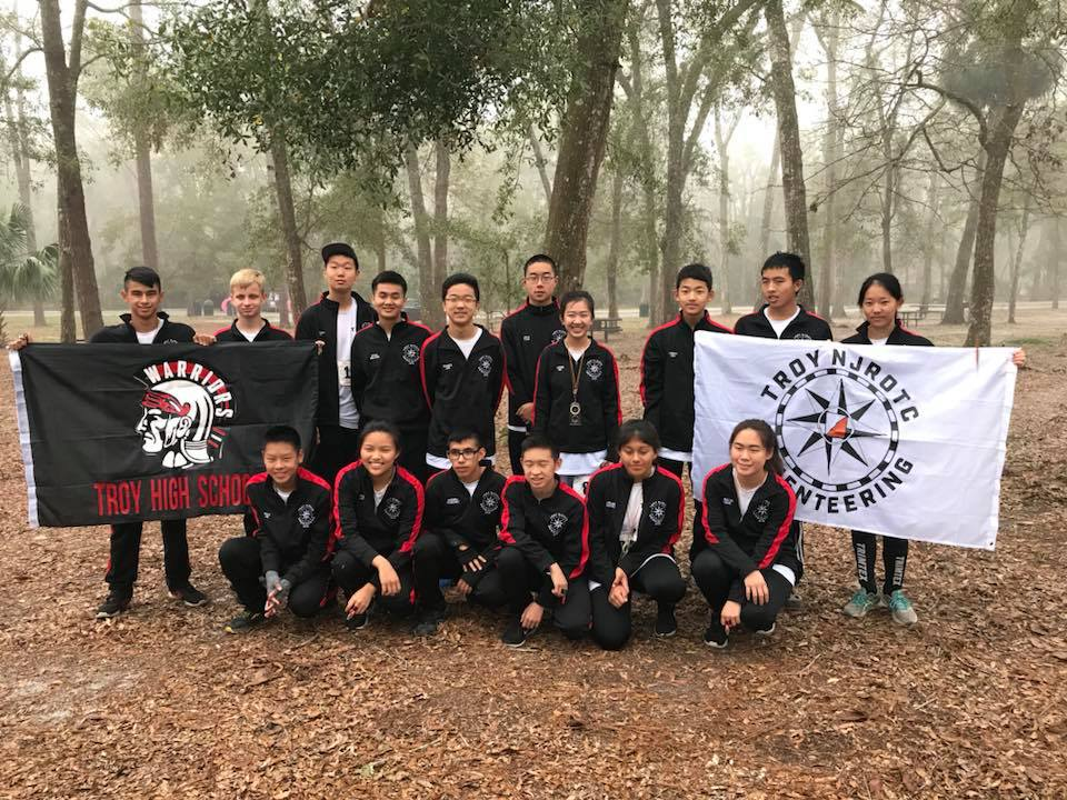 Troy NJROTC Orienteering Team